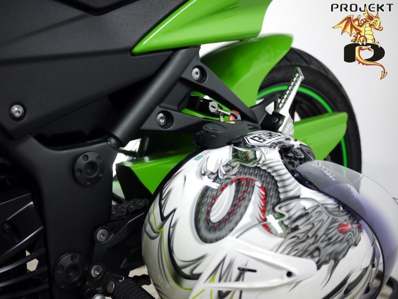 Ninja 250r Helmet Lock
